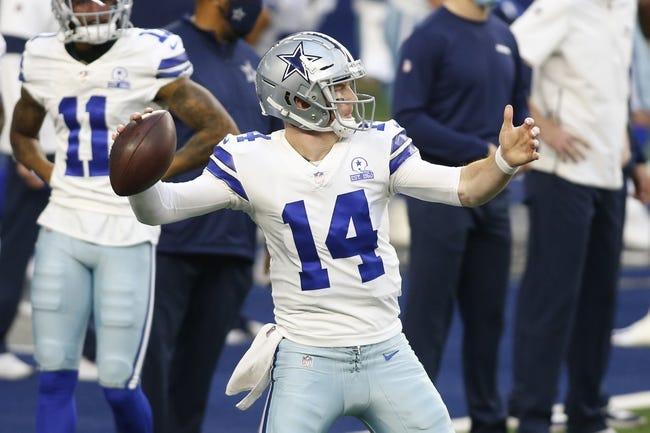 Dallas Cowboys at New York Giants: 1/3/21 NFL Picks and Prediction