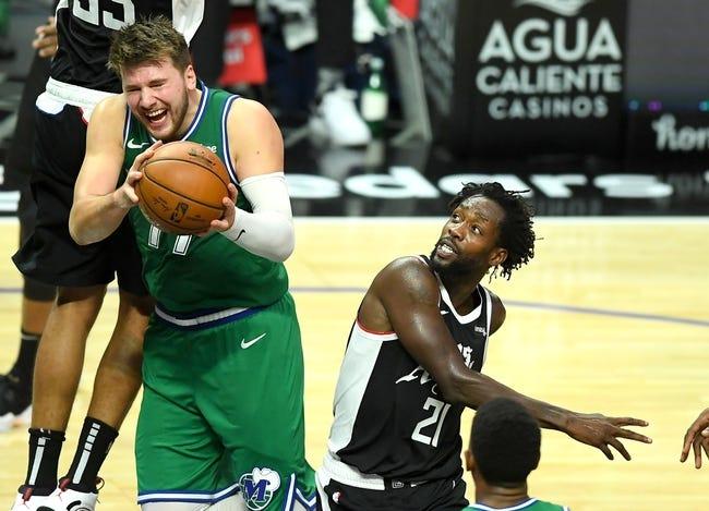 Los Angeles Clippers at Dallas Mavericks - 3/15/21 NBA Picks and Prediction