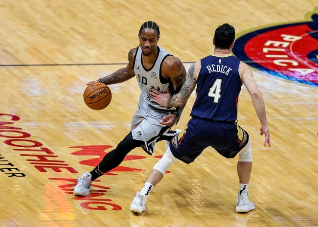 San Antonio Spurs at New Orleans Pelicans - 1/25/21 NBA Picks and Prediction