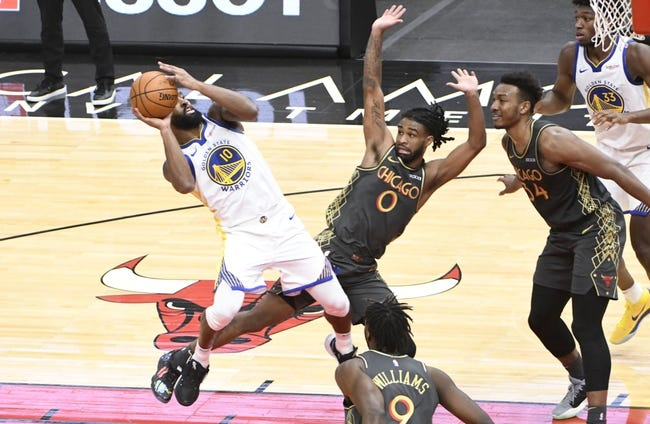Chicago Bulls at Golden State Warriors - 3/29/21 NBA Picks and Prediction
