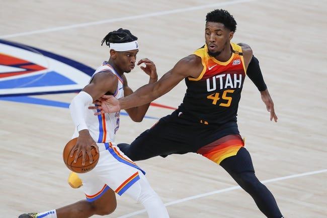 Oklahoma City Thunder at Utah Jazz - 4/13/21 NBA Picks and Prediction