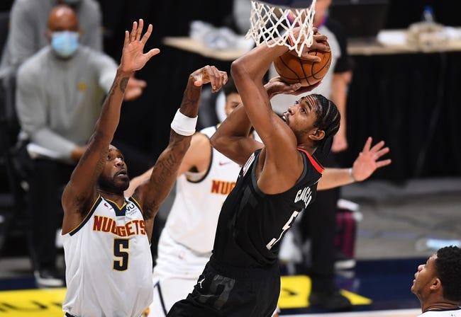 Denver Nuggets at Houston Rockets - 4/16/21 NBA Picks and Prediction