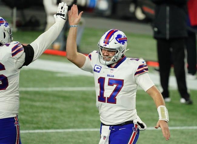 Indianapolis Colts at Buffalo Bills: 1/9/21 NFL Picks and Predictions
