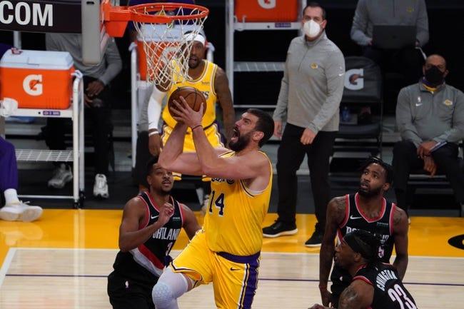 Portland Trail Blazers at Los Angeles Lakers - 2/26/21 NBA Picks and Prediction