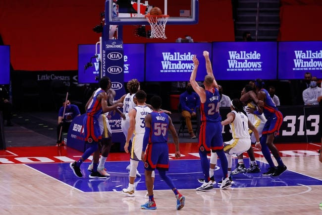 Detroit Pistons at Golden State Warriors - 1/30/21 NBA Picks and Prediction