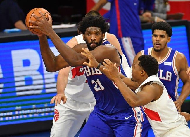 Philadelphia 76ers at Toronto Raptors - 2/21/21 NBA Picks and Prediction