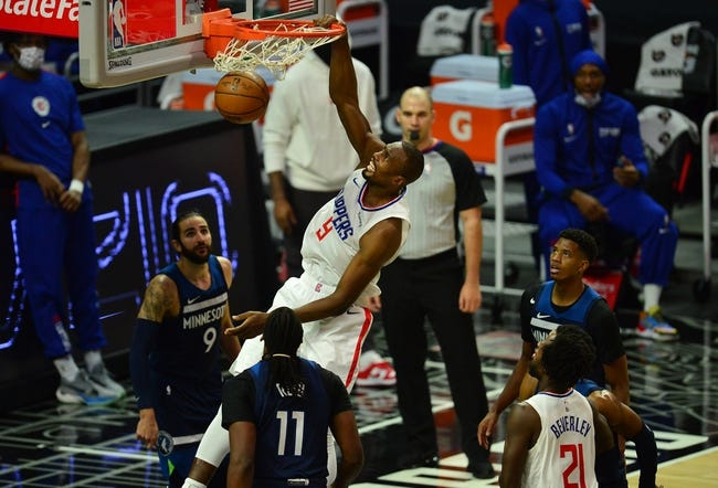 Los Angeles Clippers at Minnesota Timberwolves - 2/10/21 NBA Picks and Prediction