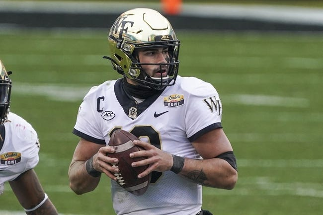 Old Dominion at Wake Forest - 9/3/21 College Football Picks and Prediction