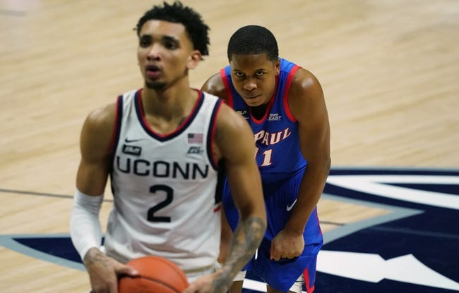 DePaul vs UConn College Basketball Picks, Odds, Predictions 1/11/21