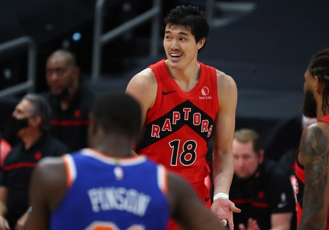 Toronto Raptors at New York Knicks - 4/11/21 NBA Picks and Prediction