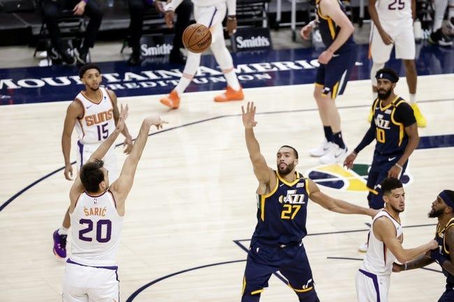 Utah Jazz at Phoenix Suns - 4/7/21 NBA Picks and Prediction