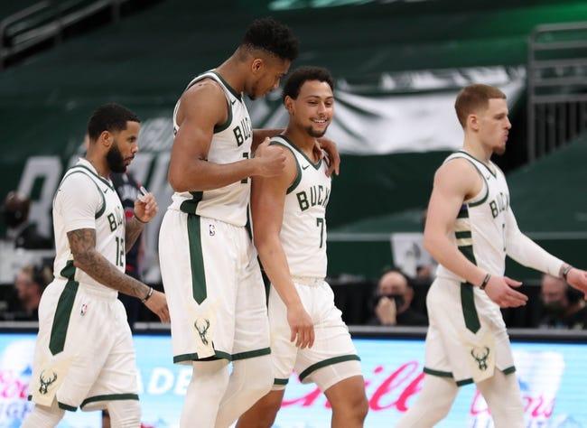 Milwaukee Bucks vs Detroit Pistons NBA Picks, Odds, Predictions 1/4/21