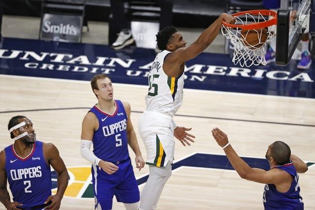 Utah Jazz at Los Angeles Clippers - 2/17/21 NBA Picks and Prediction