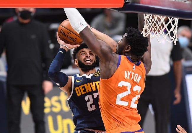 Denver Nuggets at Phoenix Suns - 1/22/21 NBA Picks and Prediction