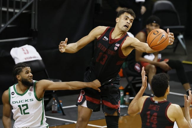 Oregon at Stanford: 2/25/21 College Basketball Picks and Prediction
