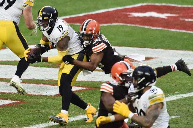 Cleveland Browns at Pittsburgh Steelers 1/10/21 NFL Picks and Predictions