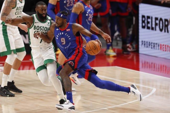 Boston Celtics vs Detroit Pistons NBA Picks, Odds, Predictions 2/12/21
