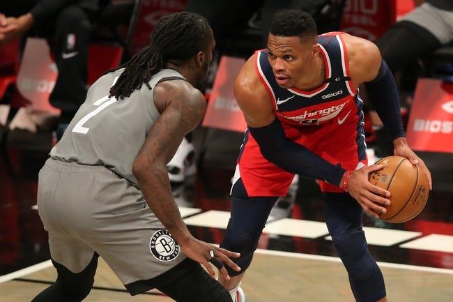 Brooklyn Nets at Washington Wizards - 1/31/21 NBA Picks and Prediction