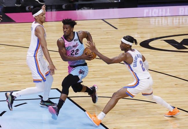 Oklahoma City Thunder vs Miami Heat NBA Picks, Odds, Predictions 2/22/21