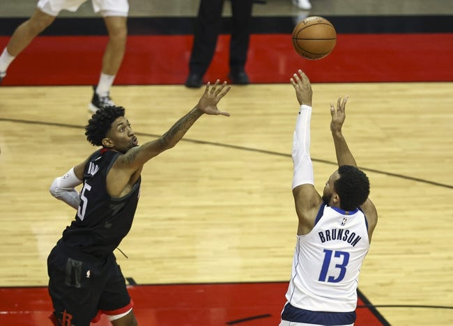 Houston Rockets at Dallas Mavericks - 1/23/21 NBA Picks and Prediction