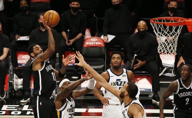 Brooklyn Nets at Utah Jazz - 3/24/21 NBA Picks and Prediction