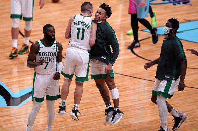 Miami Heat at Boston Celtics - 1/10/21 NBA Picks and Prediction