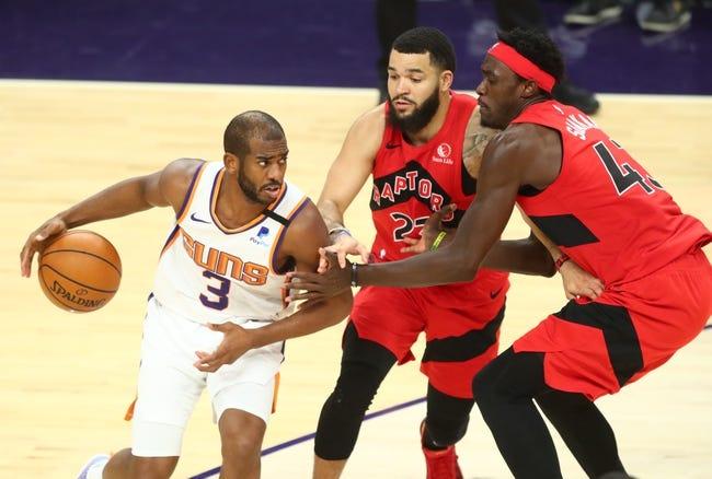 Charlotte Hornets at Toronto Raptors - 1/14/21 NBA Picks and Prediction