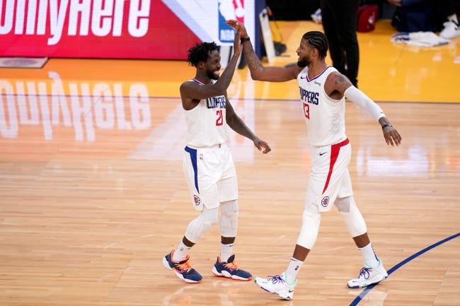 Oklahoma City Thunder at Los Angeles Clippers - 1/24/21 NBA Picks and Prediction