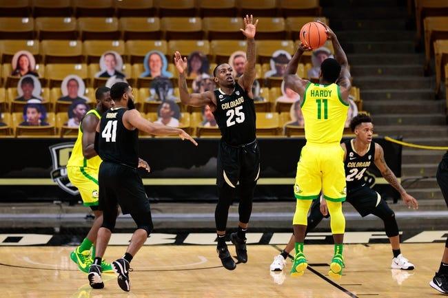 Colorado at Oregon 2/18/21 College Basketball Picks and Predictions
