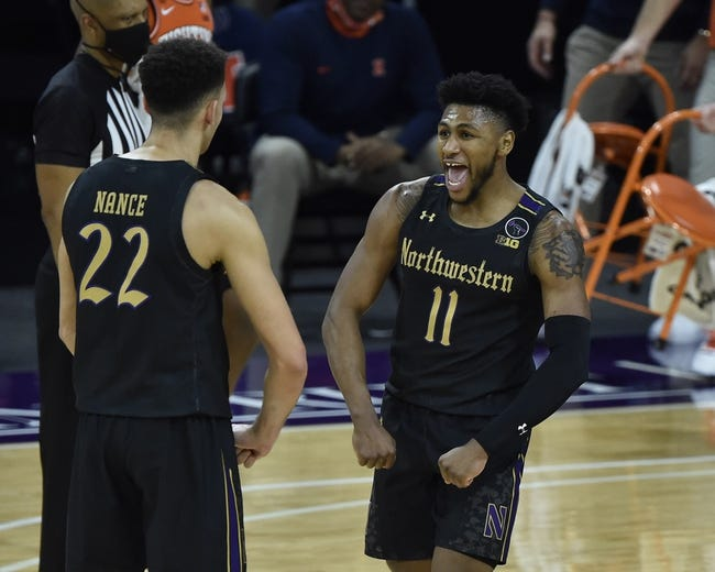 Northwestern at Illinois: 2/16/21 College Basketball Picks and Predictions