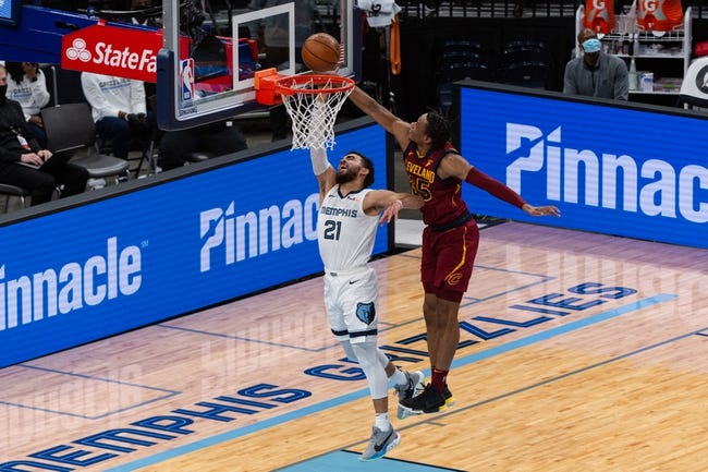 Cleveland Cavaliers vs Memphis Grizzlies NBA Picks, Odds, Predictions 1/11/21