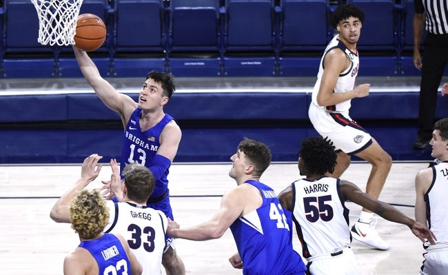 St. Mary's vs BYU College Basketball Picks, Odds, Predictions 1/14/21