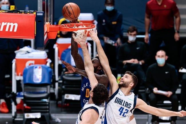 Denver Nuggets at Dallas Mavericks - 1/25/21 NBA Picks and Prediction