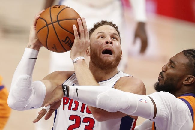 Detroit Pistons at Phoenix Suns - 2/5/21 NBA Picks and Prediction
