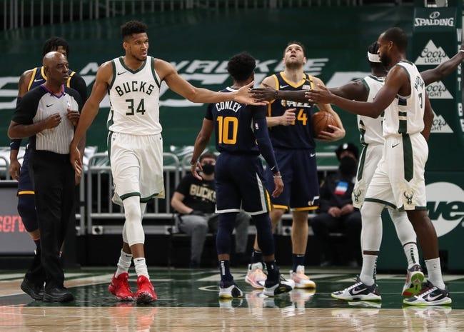 Milwaukee Bucks at Utah Jazz - 2/12/21 NBA Picks and Prediction