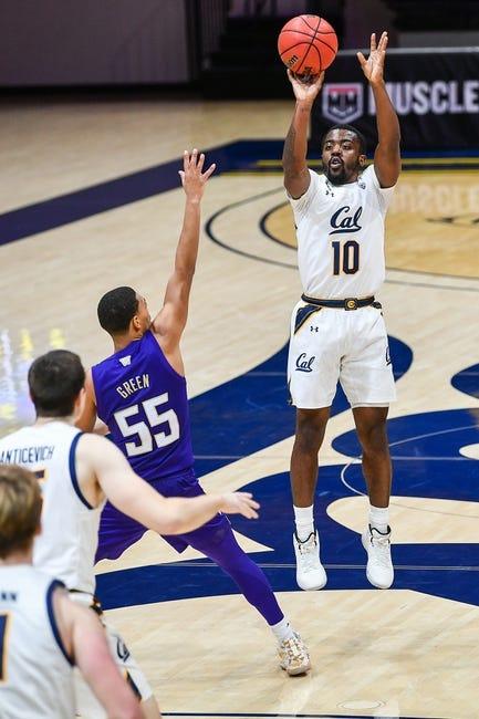 College Basketball Saturday Night Primetime Total Crusher Cal / Washington