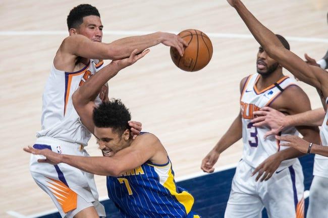 Indiana Pacers at Phoenix Suns - 3/13/21 NBA Picks and Prediction