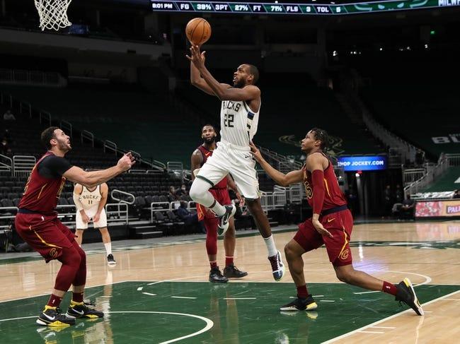 Cleveland Cavaliers vs Milwaukee Bucks NBA Picks, Odds, Predictions 2/5/21