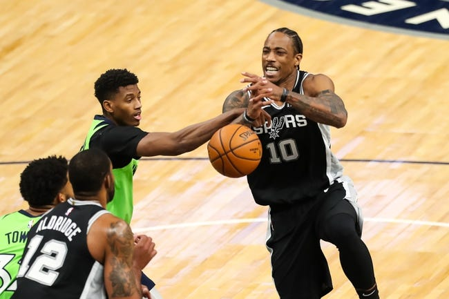 San Antonio Spurs at Minnesota Timberwolves - 1/10/21 NBA Picks and Prediction