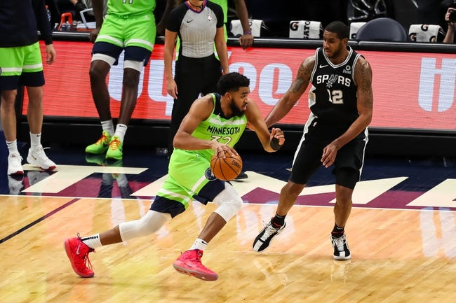 Minnesota Timberwolves vs San Antonio Spurs NBA Picks, Odds, Predictions 1/10/21