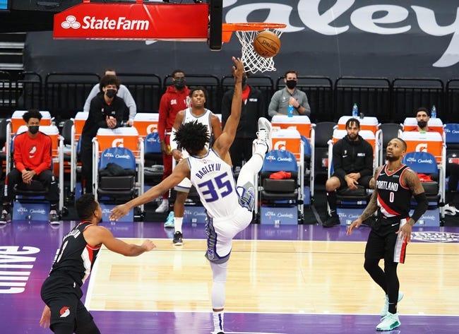 Portland Trail Blazers at Sacramento Kings - 1/13/21 NBA Picks and Prediction