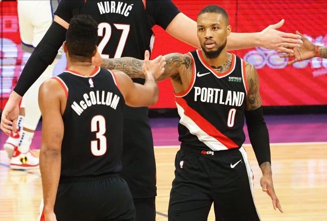 Portland Trail Blazers vs Toronto Raptors NBA Picks, Odds, Predictions 1/11/21