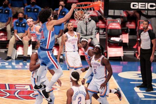 Brooklyn Nets at Oklahoma City Thunder - 1/29/21 NBA Picks and Prediction