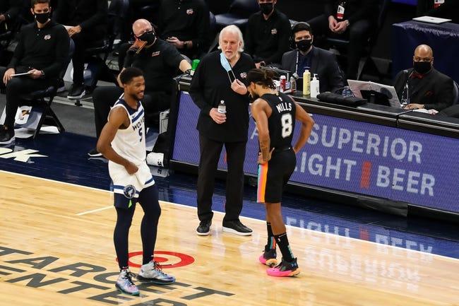 Oklahoma City Thunder vs San Antonio Spurs NBA Picks, Odds, Predictions 1/12/21