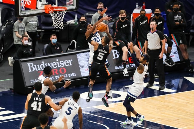 Minnesota Timberwolves at San Antonio Spurs - 2/3/21 NBA Picks and Prediction