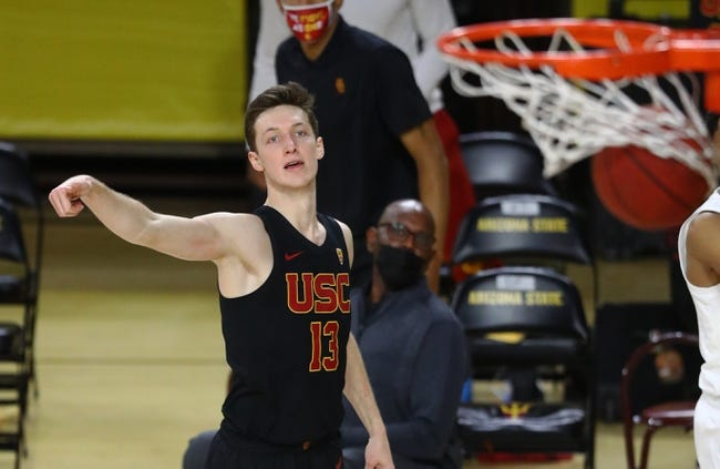 Arizona State at USC 2/17/21 College Basketball Picks and Predictions