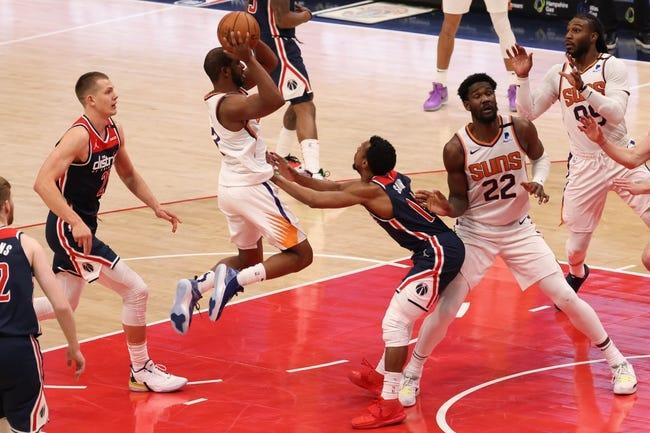 Washington Wizards at Phoenix Suns - 4/10/21 NBA Picks and Prediction