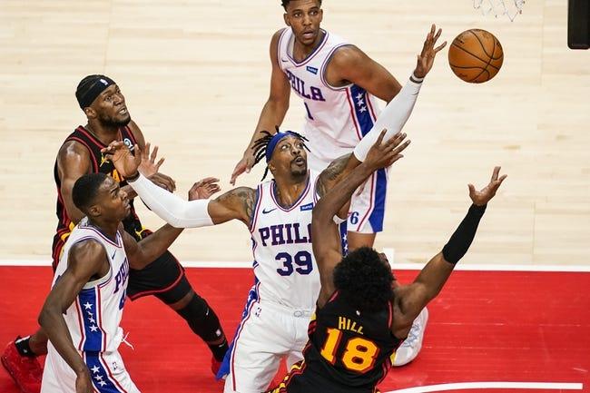 Philadelphia 76ers at Atlanta Hawks - 6/18/21 NBA Picks and Prediction