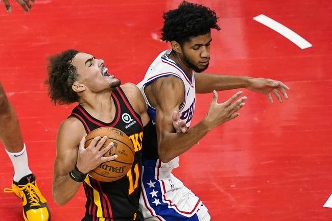 Atlanta Hawks at Philadelphia 76ers - 6/6/21 NBA Picks and Prediction