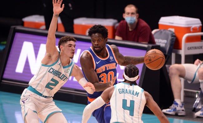 Charlotte Hornets at New York Knicks - 4/20/21 NBA Picks and Prediction